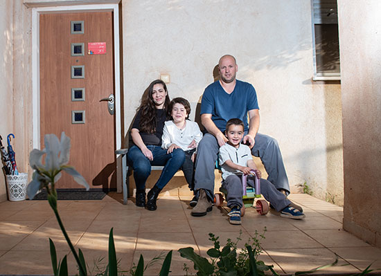 משפחת ליאני, קיבוץ מעיין ברוך/ צילום: אייל מרגולין