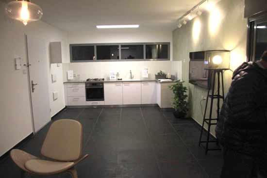 מטבח לדוגמה בדירת מחיר למשתכן. / צילום: משרד השיכון