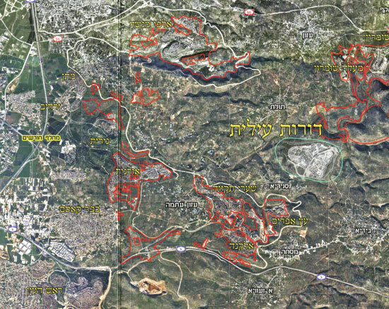 דורות עילית / מפה: מתוך חומר שיווקי של אפיקים רוזנטלר