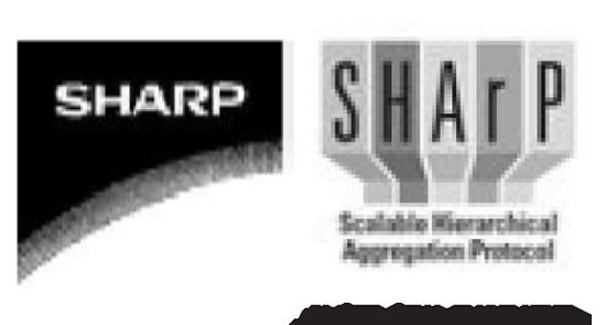 """הסימנים של מלאנוקס (מימין) ושארפ  / צילום: יח""""צ"""