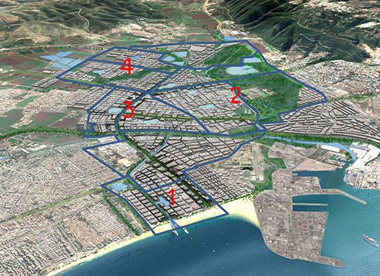 אזור התוכנית במפרץ חיפה / צילום: מצגת החברה