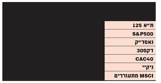 מכפילי הרווח בשוק הישראלי