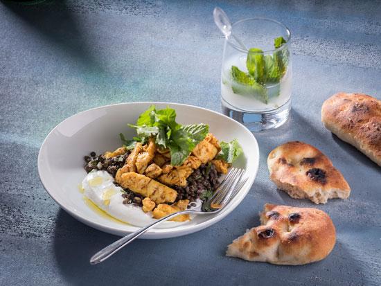 שווארמה לוקוס ממסעדת הפי פיש  /  צילום: אנטולי מיכאלו