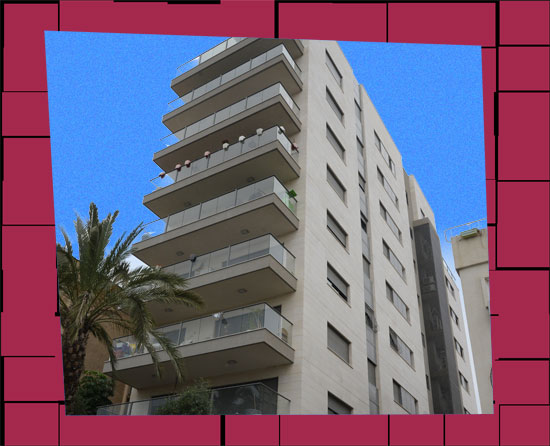 בנין רחוב מעלה צופים 27 רמת גן / צילום: איל יצהר