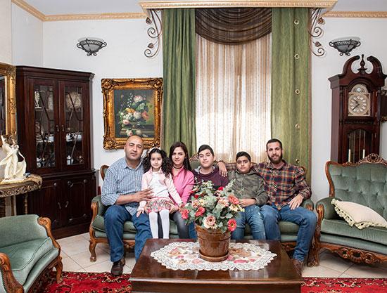 משפחת שחאדה, ירכא / צילום: אייל מרגולין