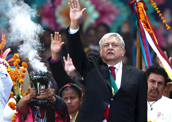 נשיא מקסיקו, אנדרס מנואל לופס אוברדור / צילום: רויטרס