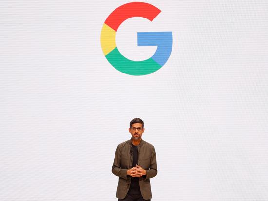 """מנכ""""ל גוגל, סונדאר פיצ'אי / צילום:  רויטרס - Stephen Lam"""