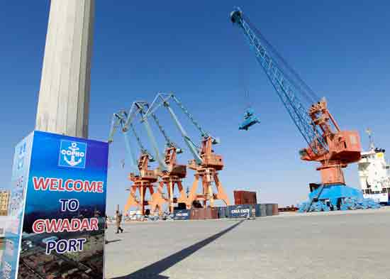נמל גוודאר בפקיסטן  / צילום: רויטרס, Caren Firouz