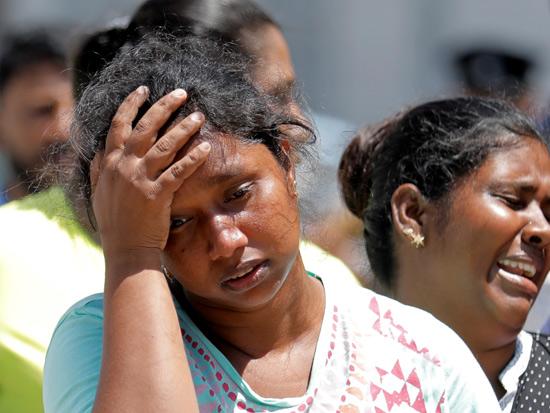נפגעות המתקפות בסרי לנקה/ רויטרס Dinuka Liyanawatte