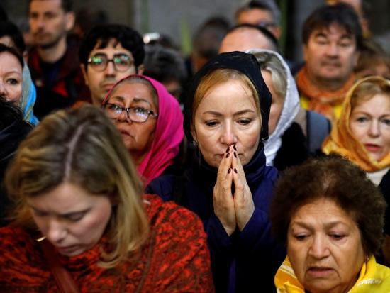 ותפילת חג הפסחא בירושלים. / רויטרסAmir Cohen