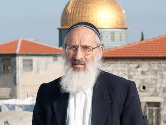 הרב שלמה אבינר/ צילום: עומר מירון, וואלה!News