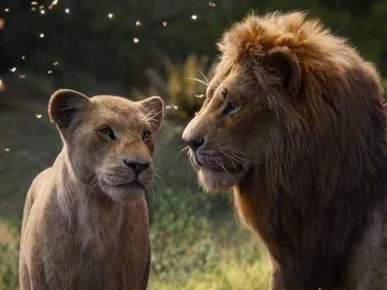 מלך האריות/ צילום מסך מתוך סרטי דיסני ומארוול