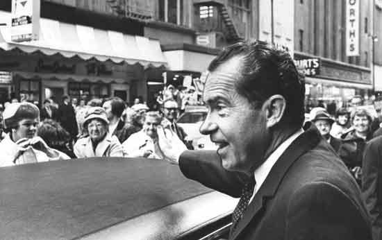 הנשיא לשעבר ריצ'רד ניקסון /צילום : רויטרס