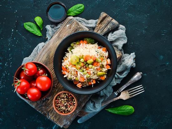 ריזוטו עם שלל ירקות/ צילום: Shutterstock/א.ס.א.פ קרייטיב