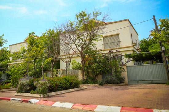 הוילה של משפחת הוניגמן רחוב המעפילים 16 הרצליה פיתוח / צילום: שלומי יוסף