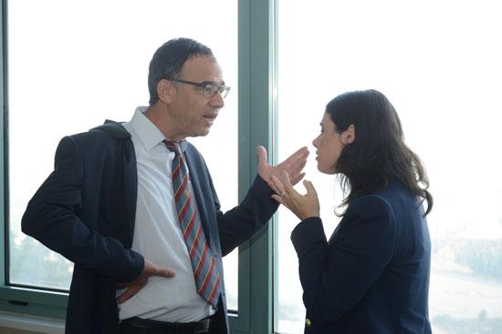 איילת שקד ושי ניצן / צילום: איל יצהר