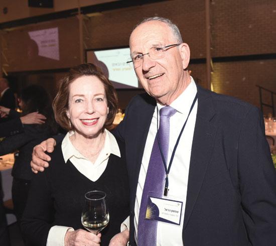 שמשון הראל ואילנה מנטו / צילום: אוהד הרכס ואיתי בלסון, מכון ויצמן למדע