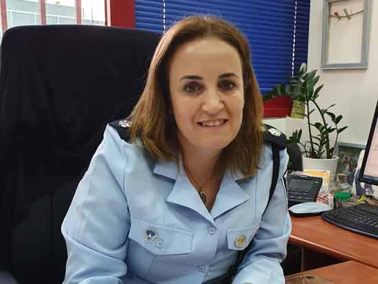 """נצ""""מ שלומית לנדס/ צילום: משטרת ישראל"""