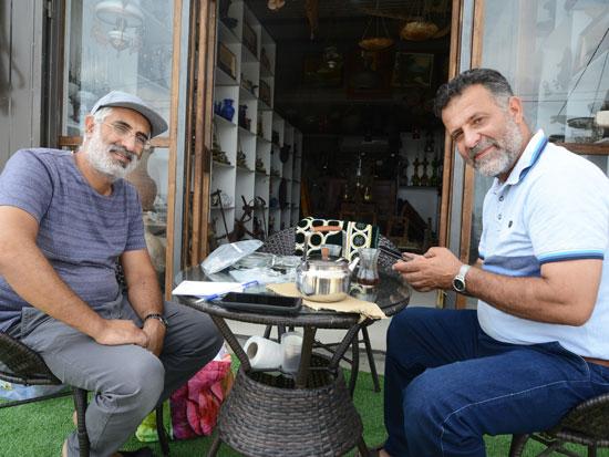 סלאם דסוקי (מימין) ואופיר כהן / צילום: איל יצהר