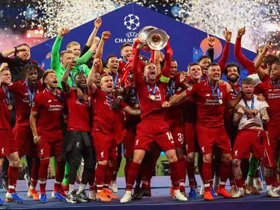 ליברפול, חגיגות הניצחון, ליגת האלופות, מאי 2019  / צילום: Shutterstock | א.ס.א.פ קריאייטיב