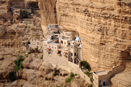 מנזר סנט ג'ורג' בואדי קלט/ צילום: Shutterstock | א.ס.א.פ קריאייטיב