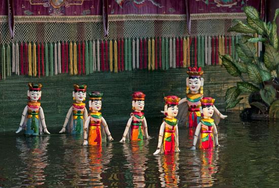 תיאטרון בובות המים./ צילום: : Shutterstock | א.ס.א.פ קריאייטיב