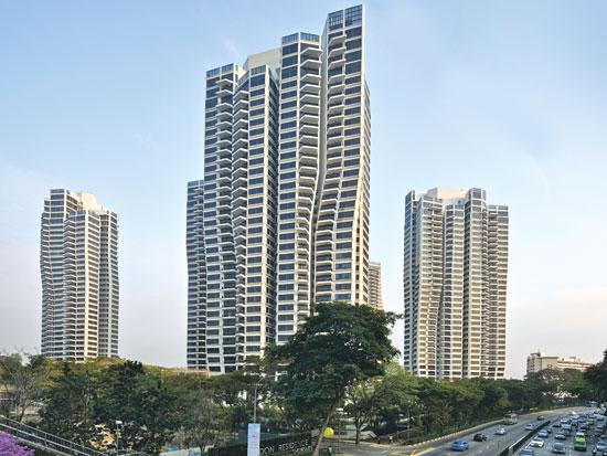 קומפלקס D'Leedon המונה שבעה מגדלים בסינגפור   / צילום:  Aaron Pocock