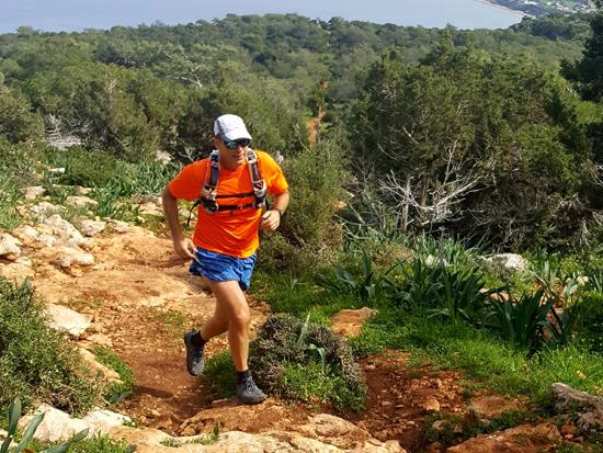 רונן קרומהולץ במרוץ בקפריסין / צילום: אלמוג דביר