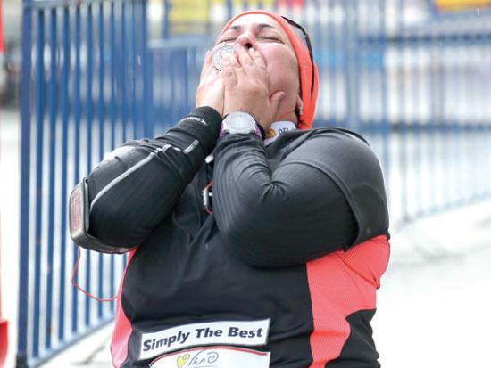עידית שלינגבאום / צילום: מרתון טבריה