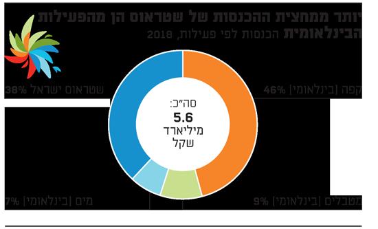 יותר ממחצית ההכנסות של שטראוס