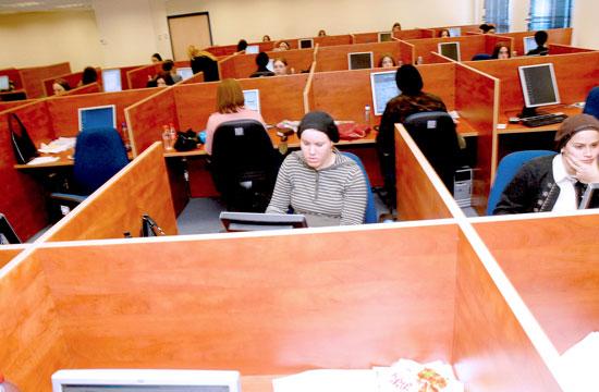 נשים דתיות עובדות בהייטק מודיעין עילית / צילום: תמר מצפי
