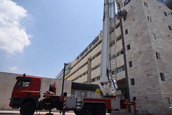 בית חולים זיו בצפת/ צילום: אביהו שפירא