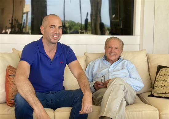 מוריס קאהן וערן גפן / צילום: תמונה פרטית