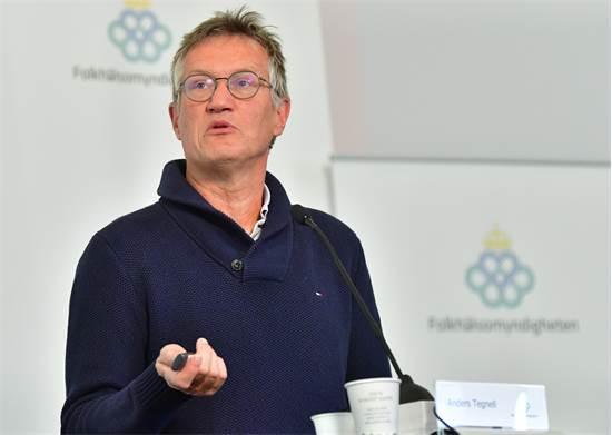 אנדראס טגנל, האפידמיולוג הראשי של שבדיה / צילום: Jonas Ekstromer/TT News Agency, רויטרס