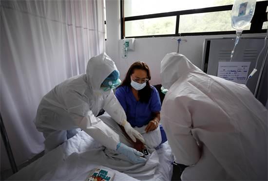 התפרצות מגפת הקורונה: בית חולים במקסיקו / צילום: AP