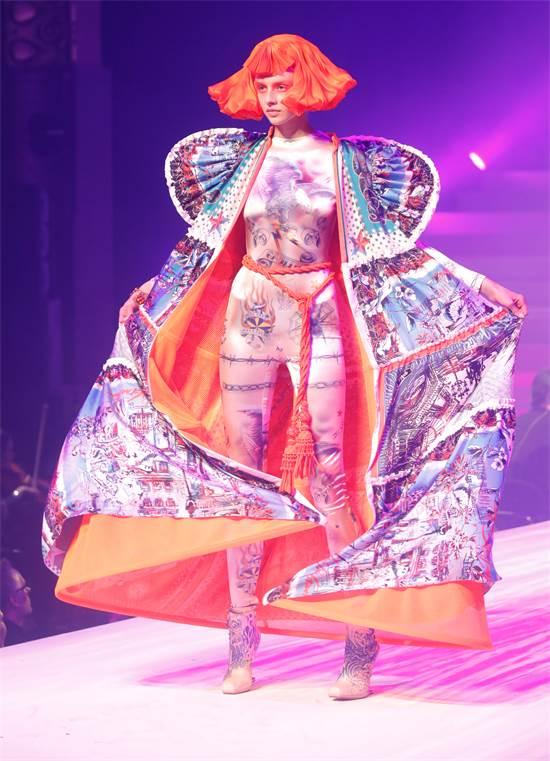 תצוגת האופנה האחרונה של ז'אן-פול גוטייה / צילום: Charles Platiau, רויטרס