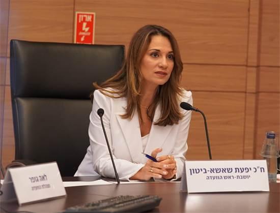 יפעת שאשא-ביטון בוועדת הקוורנה / צילום: שמוליק גרוסמן, דוברות הכנסת