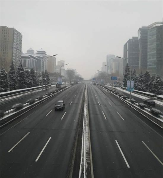 רחובות בייג'ינג ריקים בימי הקורונה  / צילום: איליה צ'רמניך