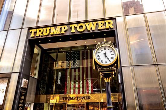 מגדל טראמפ בניו יורק. העסקים נפגעו מאז שטראמפ הפך לנשיא צילום: שאטר