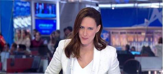 יונית לוי במשדר הבחירות של חדשות 12 אמש / צילום: יחצ