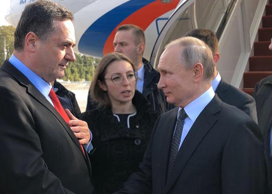 נשיא רוסיה ולדמיר פוטין נחת היום בישראל לקראת מפגש עם ראש הממשלה בנימין נתניהו / צילום: לשכת שר החוץ