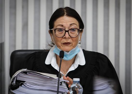 השופטת אסתר חיות / צילום: אורן בן חקון, פול