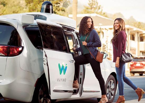 """המונית הרובוטית של Waymo , חברת בת של גוגל / צילום: יח""""צ"""