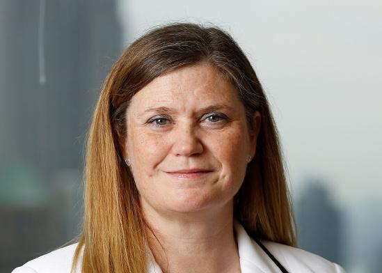 """מריאן לייק, מנכ""""לית הלוואות צרכניות, ג'י פי מורגן / צילום: Caitlin Ochs, רויטרס"""