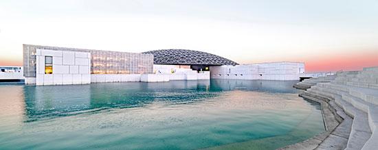 מוזיאון הלובר באבו דאבי / צילום: shutterstock, שאטרסטוק