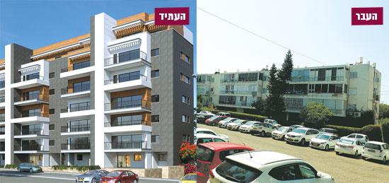 """רחוב גונן 10-16, תל אביב / הדמיה: יח""""צ"""