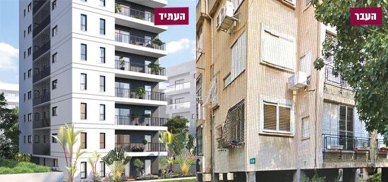 """רחוב עטרות 15, רמת גן / הדמיה: יח""""צ"""