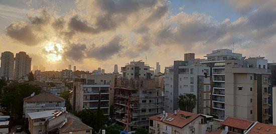 """בניינים צמודים בר""""ג שנבנו במסגרת תמ""""א 38 / צילום: גיא ליברמן, גלובס"""