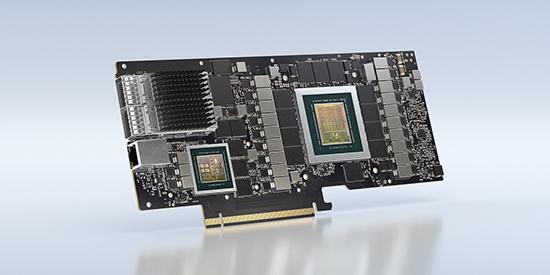השבב NVIDIA BlueField 2X DPU, שיושק ב-2023 / צילום: NVIDIA