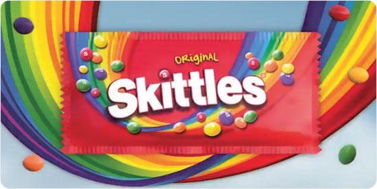 Skittles. מהלך סולידרי מפתיע / צילום: צילום מסך
